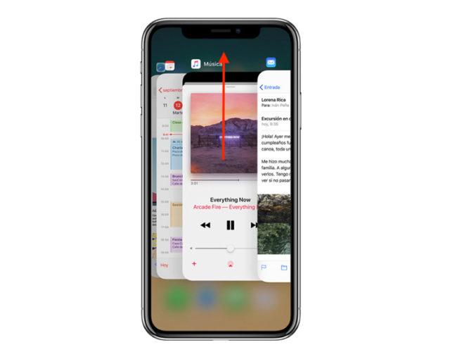 close iOS apps