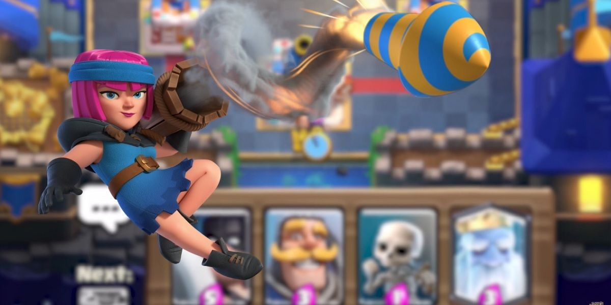 Best decks with the Fire Launcher in Clash Royale