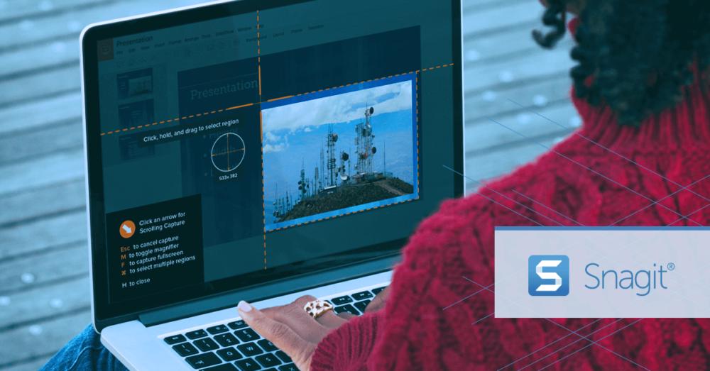 Snagit - best app to make Windows pc screenshots
