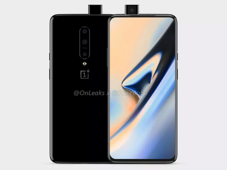 The OnePlus 7 is seen in all its splendor