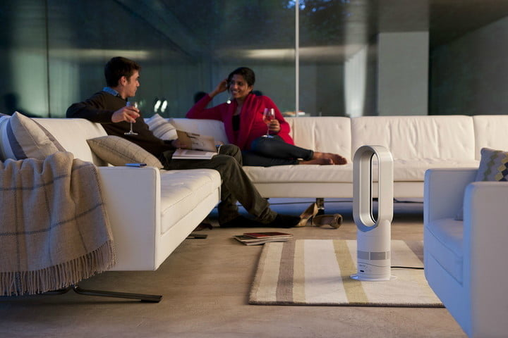 Dyson AM09, one of the best electric heaters