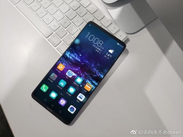 The huge Honor Note 10 leaked in its first real image