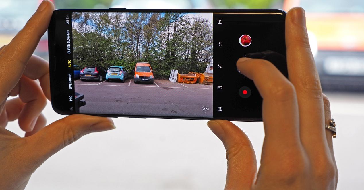 S9 + Camera take advantage