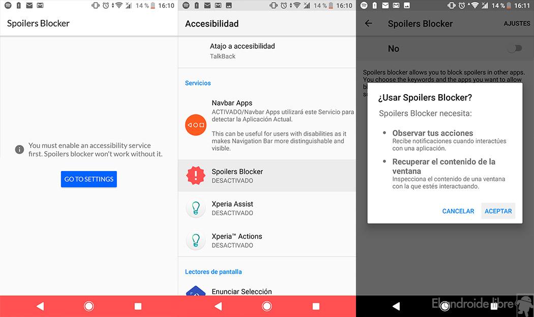 Blocker Spoilers: the app that avoids spoilers wherever you go