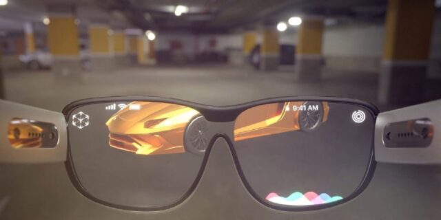 Apple Glasses with iPhone 12