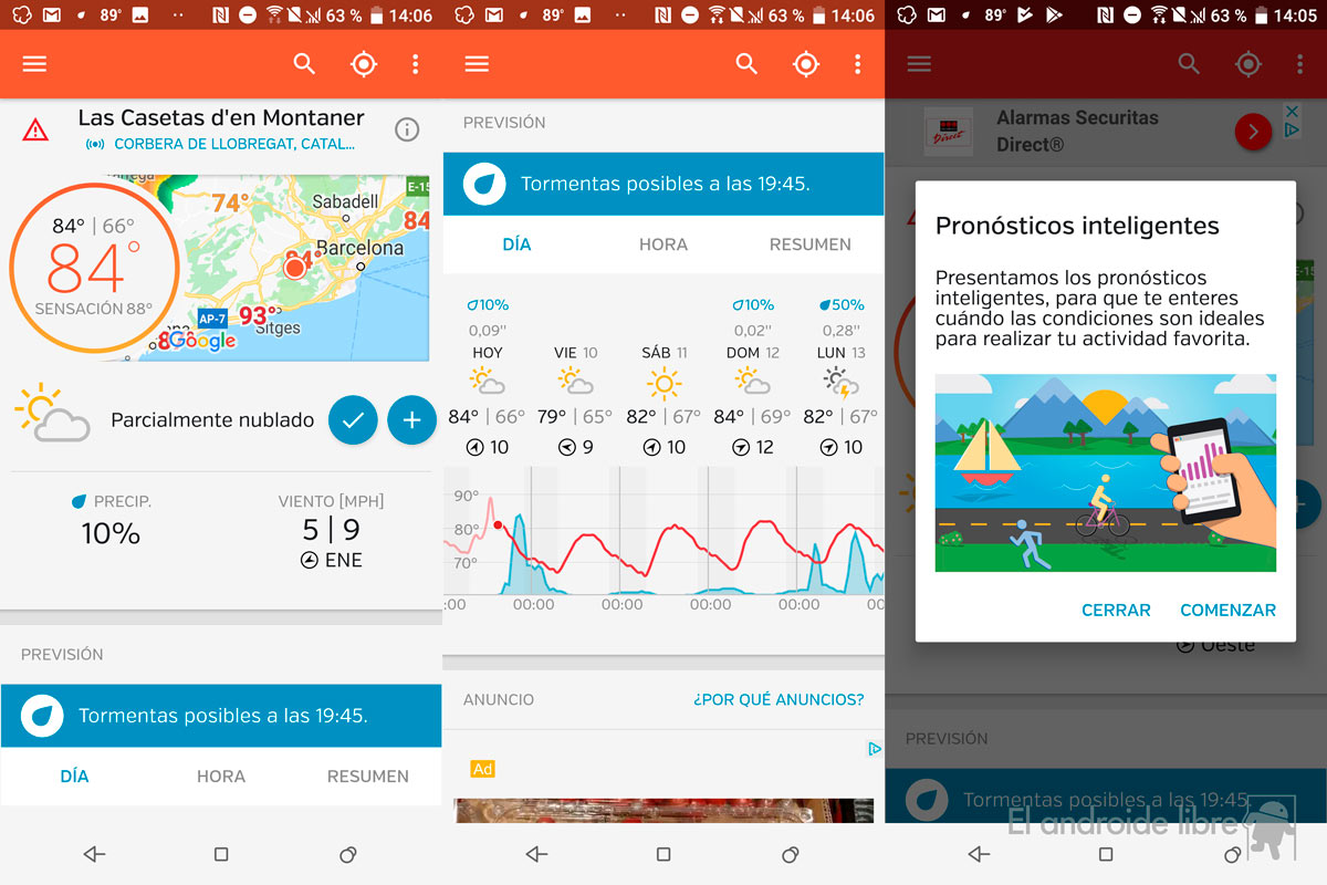 5 weather applications that will be great on vacation