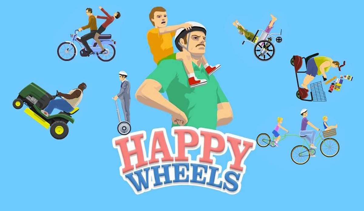 Happy Wheels Lands On Android With Its Fun Object Physics