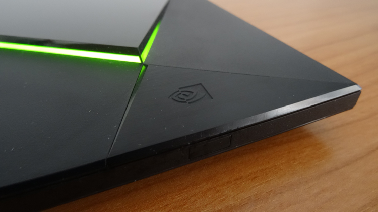 The design of the Nvidia Shield TV