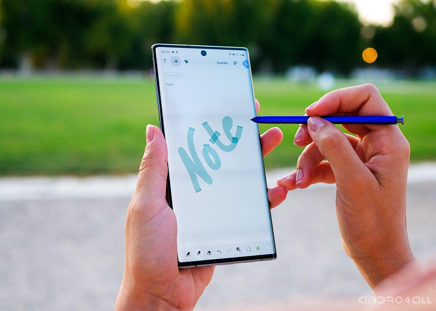 Samsung Galaxy Note10 +. S-Pen