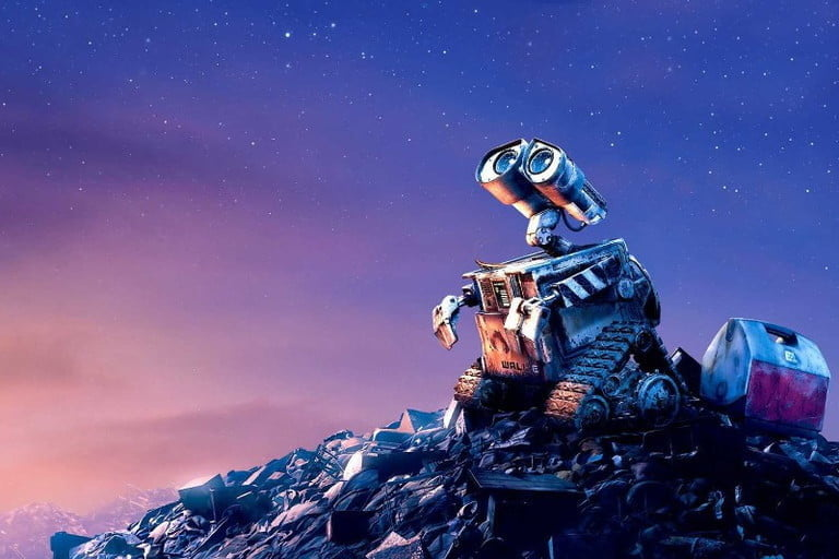 Wall-E, one of the best films in space