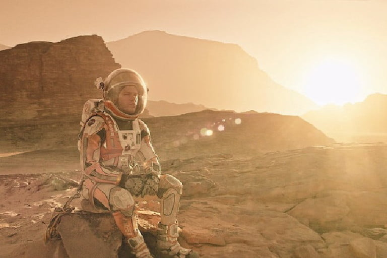 The Martian, one of the best movies in space