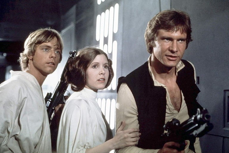 Star Wars Episode IV, one of the best movies in space