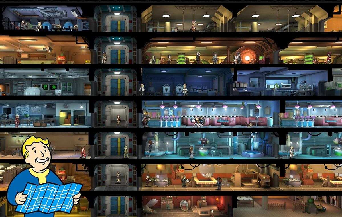 Shelter in Fallout Shelter Online