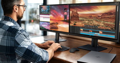 We explain how to configure two monitors in Windows 10