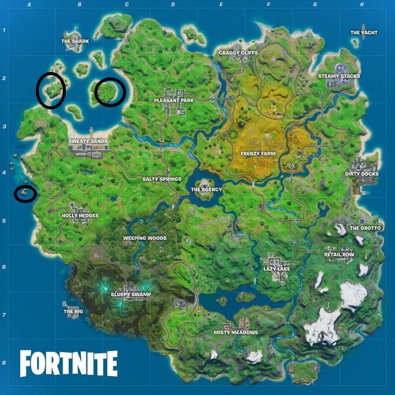 Fortnite map, week 5: mischief mischief