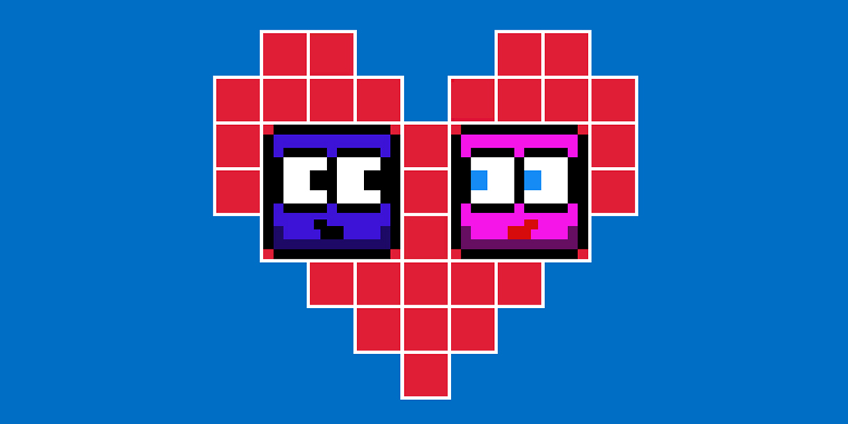 Square Love is a nice casual game in which to find the lover