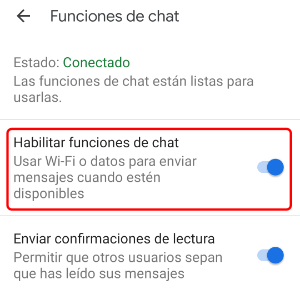 Image - Android messages adds RCS in Spain