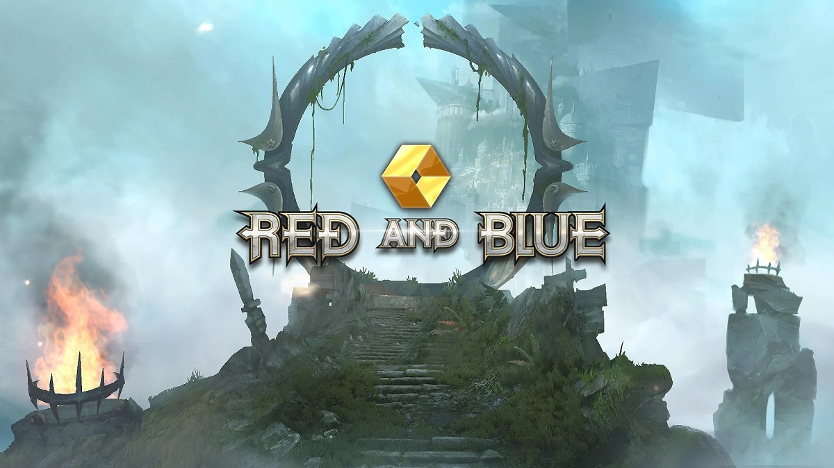 A new groundbreaking card game called Red and Blue