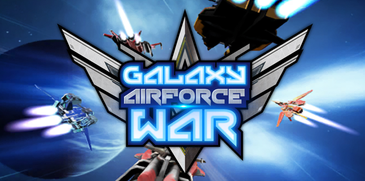 3D graphics for Galaxy Airforce War with its lights and shadows