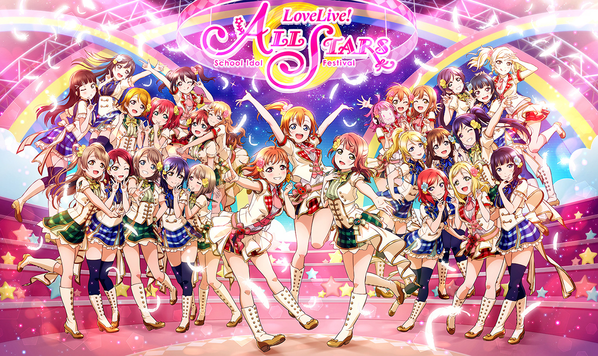 All the power from the feminine to the musical with Love Live! All stars