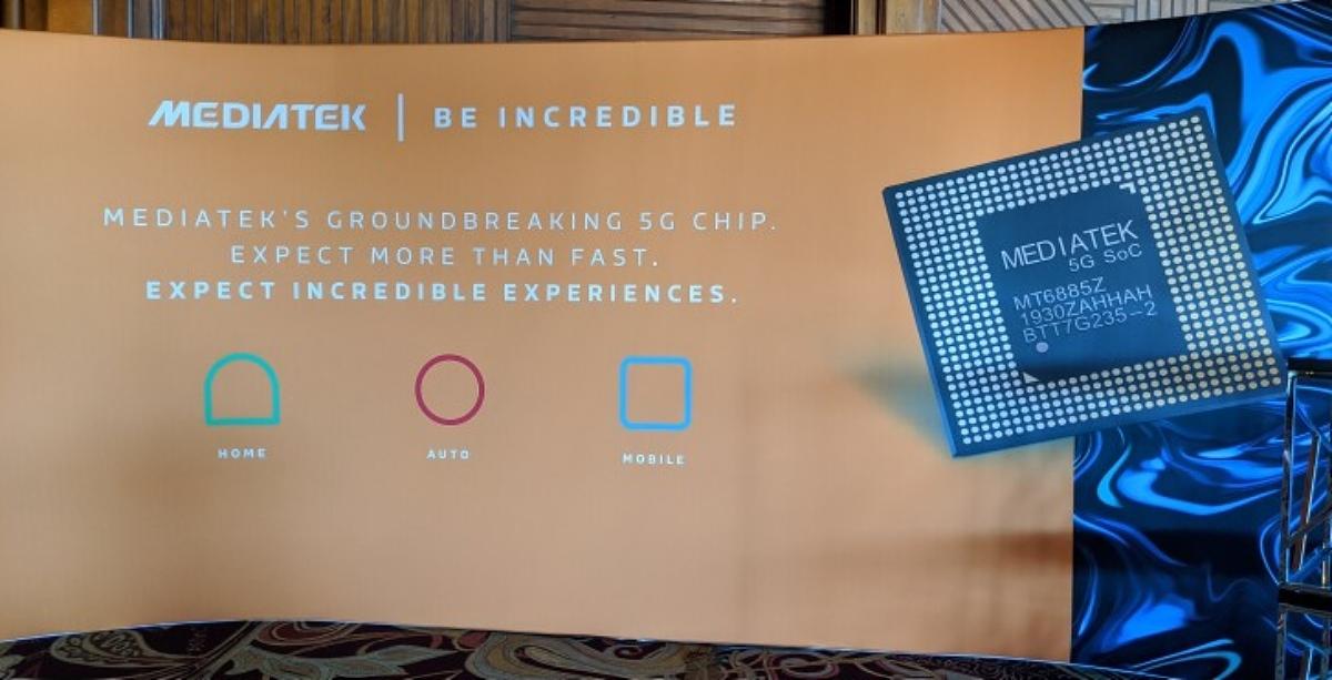 Chipset 5G de Mediatek