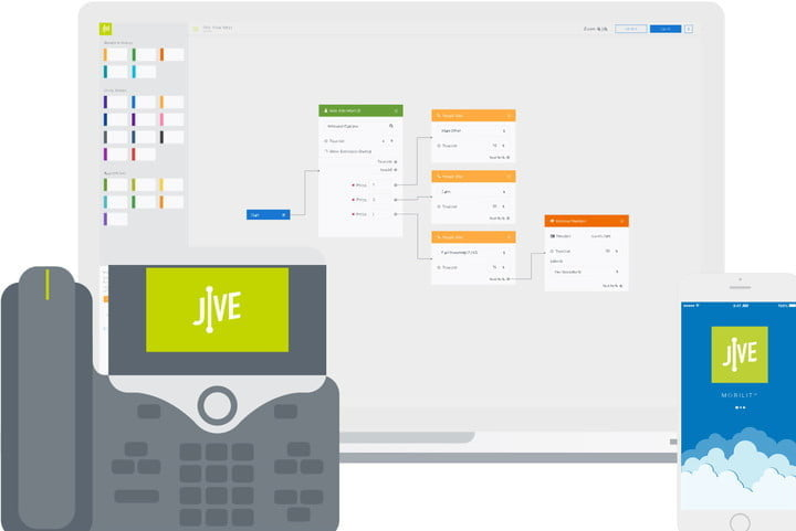 Picture of Jive, VoIP service provider