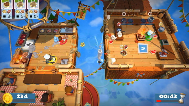 Overcooked 2 | The best multiplayer Nintendo Switch games