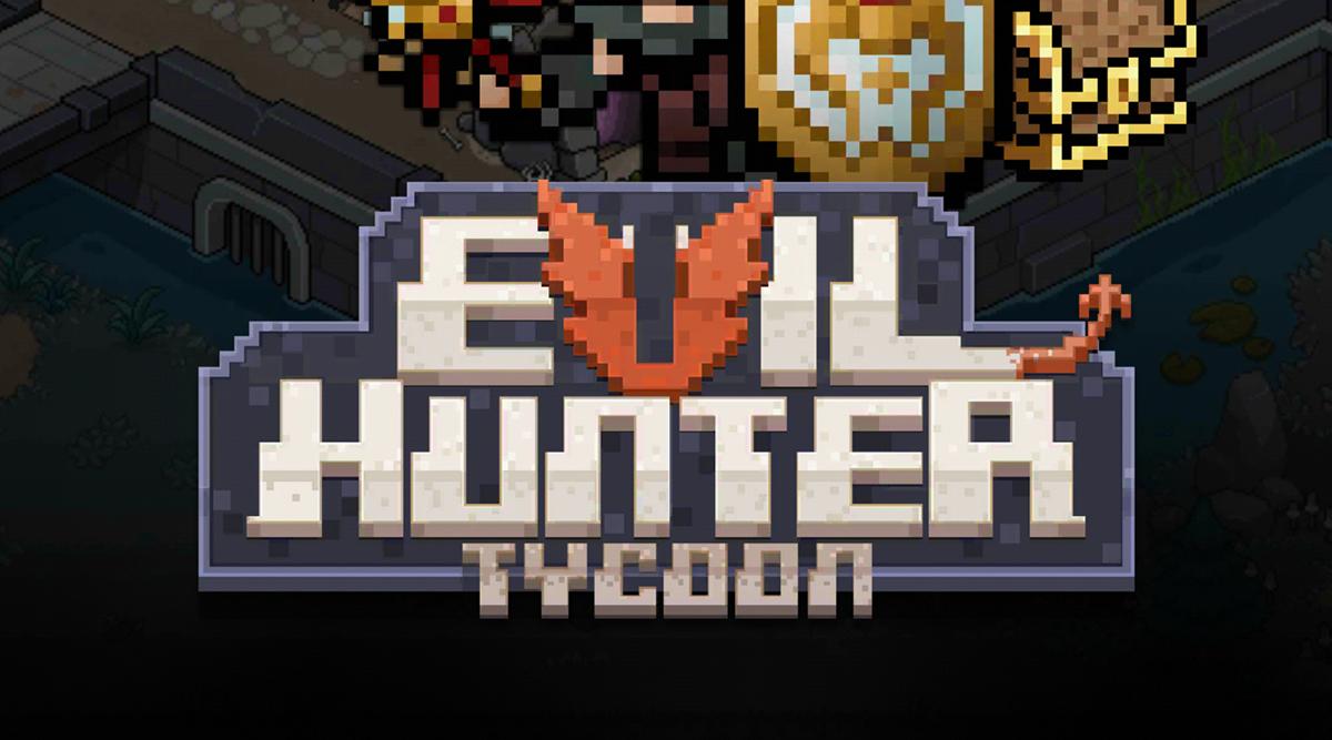 Rebuild the warrior village in Evil Hunter Tycoon