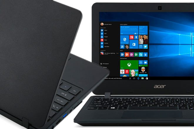 Acer TravelMate B117, the notebook with TeachSmart ready for the classroom and the cloud