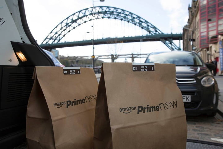 Amazon Prime Now, one of the best shopping apps