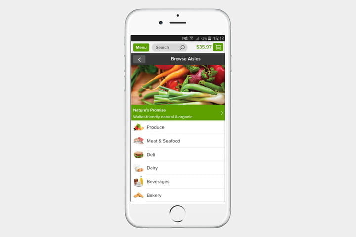 Peapod, one of the best shopping apps