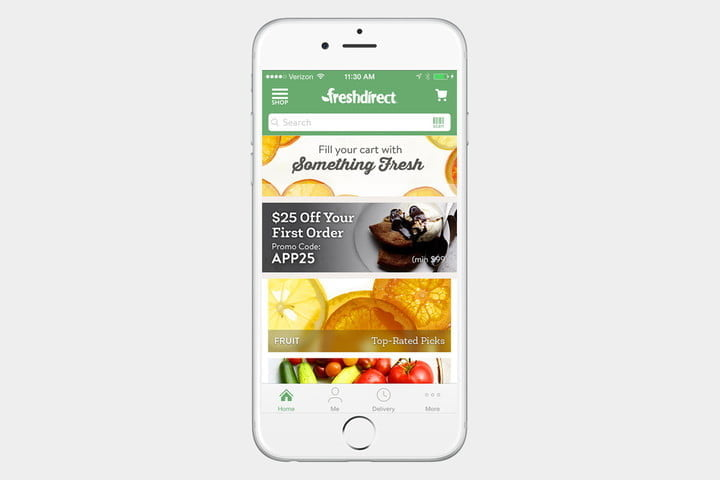 FreshDirect, one of the best shopping apps