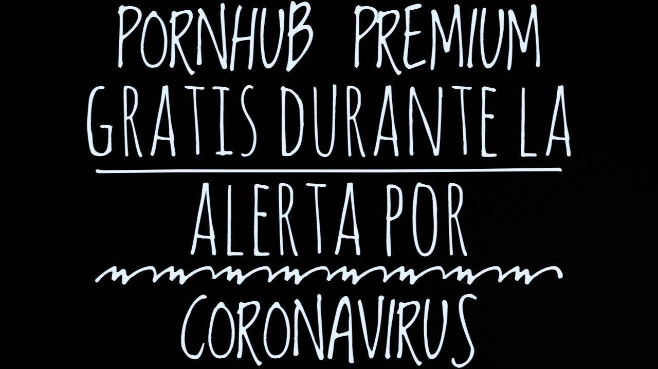 PornHub offers its Premium content while Coronavirus alert lasts