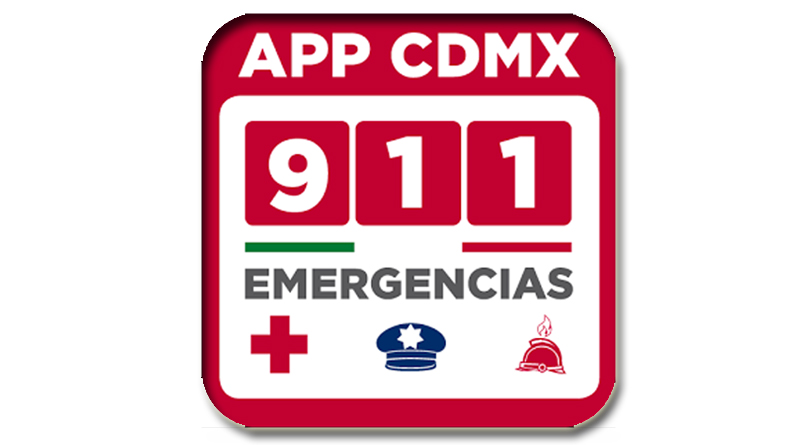 911 CDMX application with seismic alert