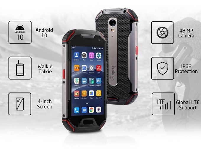 Unihertz Atom XL: the affordable, ultra-rugged mobile phone with walkie-talkie