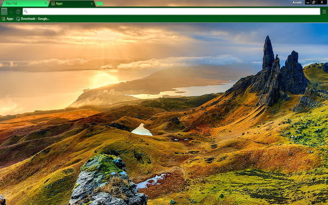 Google Chrome Themes Isle of Skye Scotland
