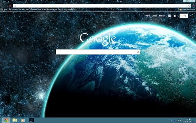 Google Chrome Space Themes