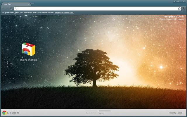 Google Chrome Themes Lone Tree