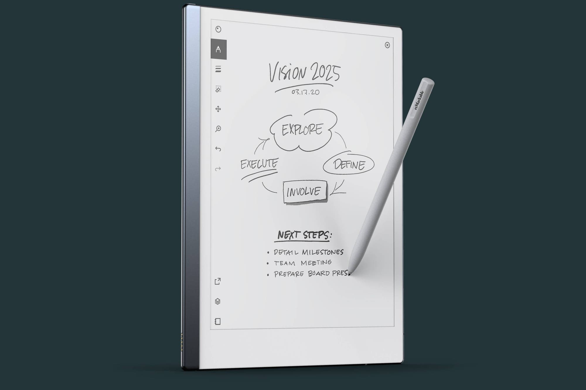 ReMarkable 2, the tablet that looks like paper and allows you to write freehand