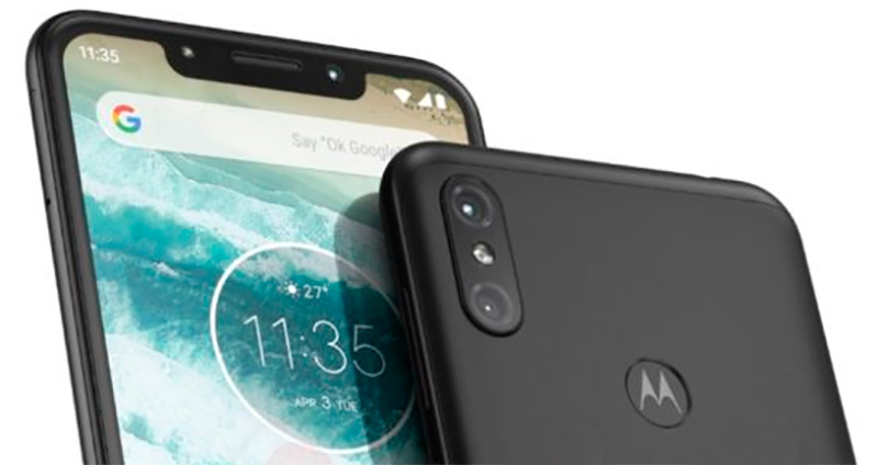 Android One, elongated screen and notch