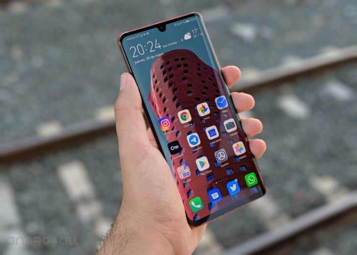 Huawei P30 Pro, display and software
