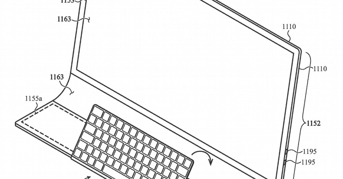 Apple patents an iMac that integrates monitor and keyboard