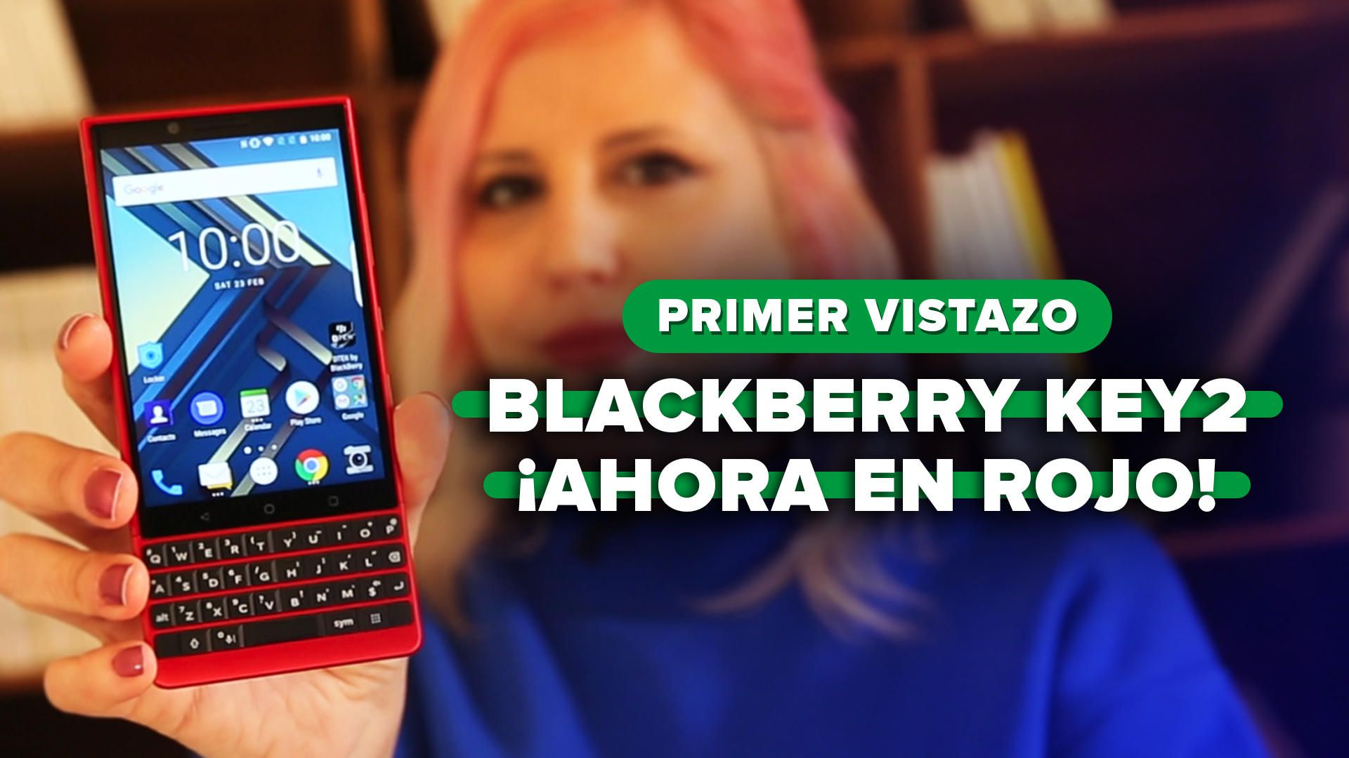BlackBerry Red Edition: More memory and a color that does not go unnoticed - Video