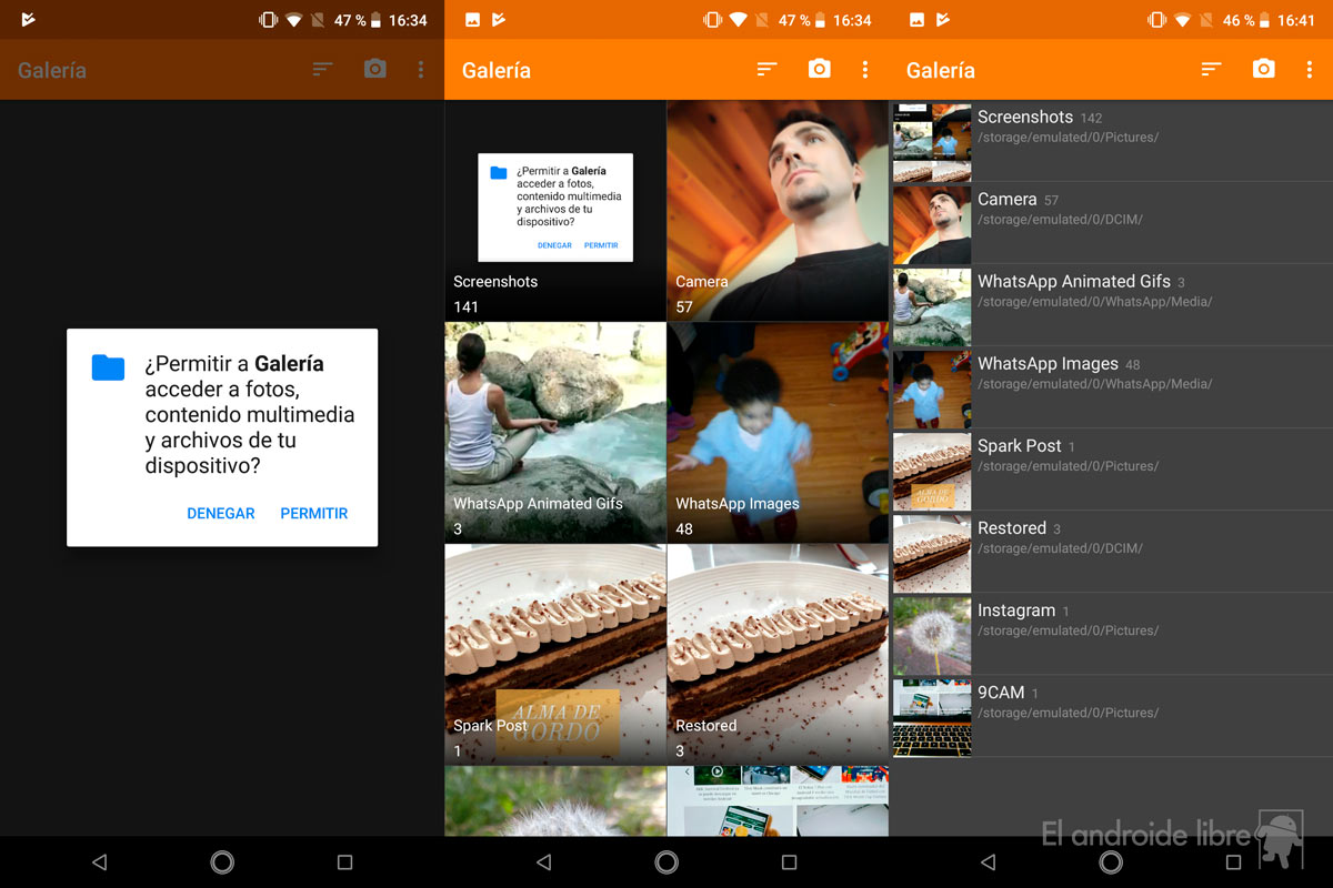 Download the lightest and most complete image gallery for your Android