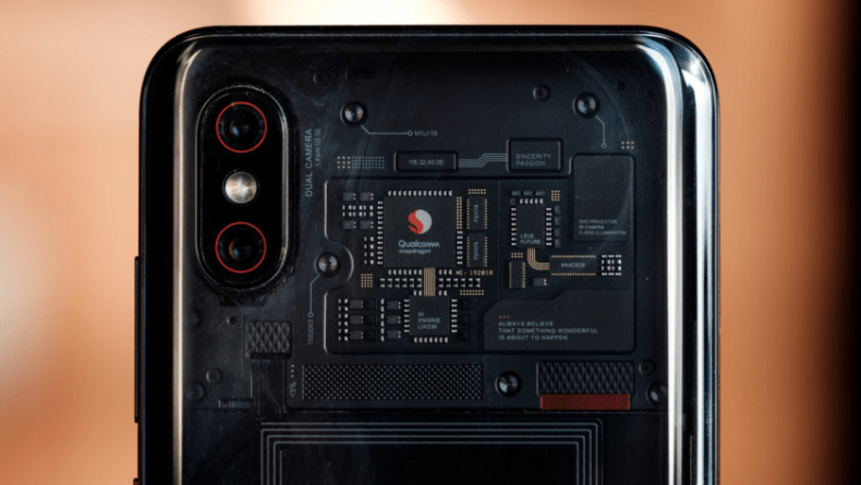 Download the wallpapers of the new Xiaomi Mi 8