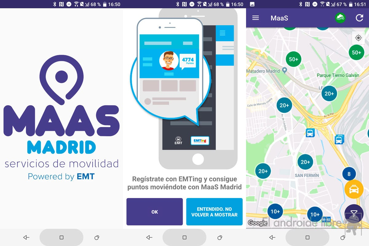Find sustainable transport in Madrid with the new EMT application