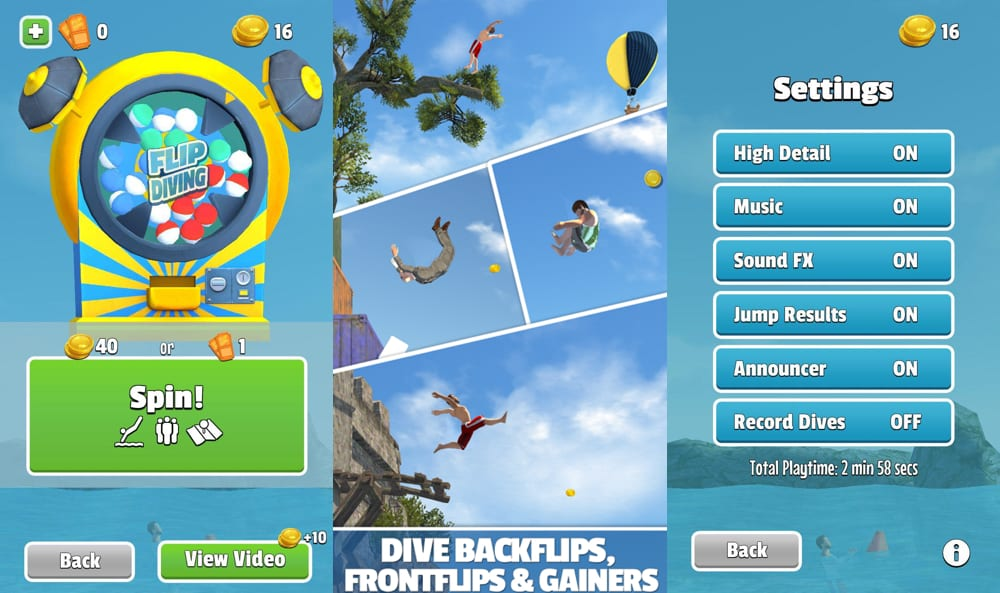 "flip ""width ="" 1000 ""height ="" 593 ""srcset ="" https://www.funzen.net/wp-content/uploads/2020/03/Flip-Diving-the-water-jumping-game-that-is-sweeping.jpg 1000w, https://elandroidelibre.elespanol.com/ wp-content / uploads / 2016/09 / flip-450x267.jpg 450w, https://elandroidelibre.elespanol.com/wp-content/uploads/2016/09/flip-768x455.jpg 768w, https: // elandroidelibre. elespanol.com/wp-content/uploads/2016/09/flip-750x445.jpg 750w ""sizes ="" (max-width: 1000px) 100vw, 1000px ""/></p><p>Another of Flip Diving's arguments for being so successful is the <strong>sound</strong>, since it has a very entertaining and entertaining music.</p><p>The game is starting to succeed among Youtubers as it allows (with coins) <strong>record jumps and share them</strong> with friends. A classic to see how the jumper is stamped and everyone makes faces of pain.</p><p>If you want to try it you can <strong>download free from Google Play</strong> where it already has more than 5 million downloads, although we also have it in web version.</p><p><center></center><br /> <!-- WP QUADS Content Ad Plugin v. 1.8.17 --><div class="