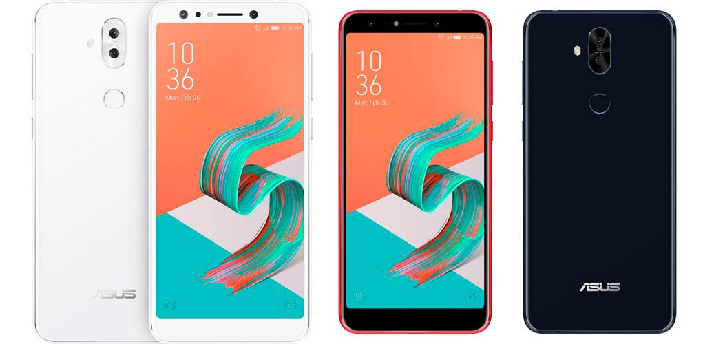 Asus Zenfone 5Q: four cameras and 6-inch screen without notch