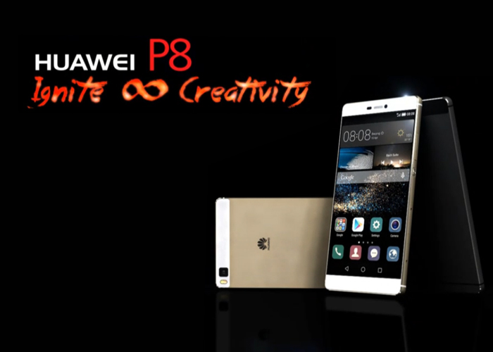 Huawei P8 is official