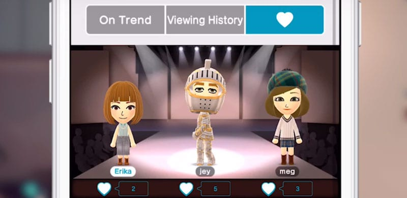 Nintendo is in fashion and its Miitomo app receives a great update